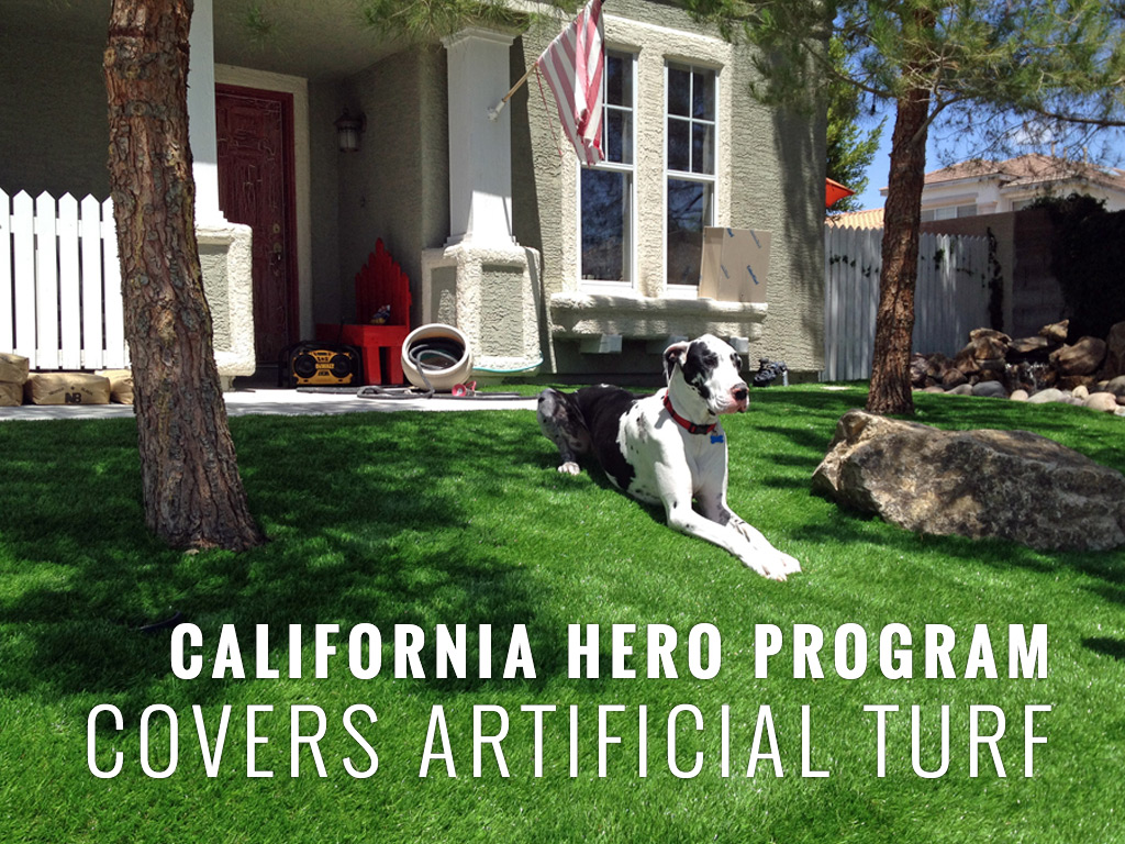 California HERO program covers artificial turf