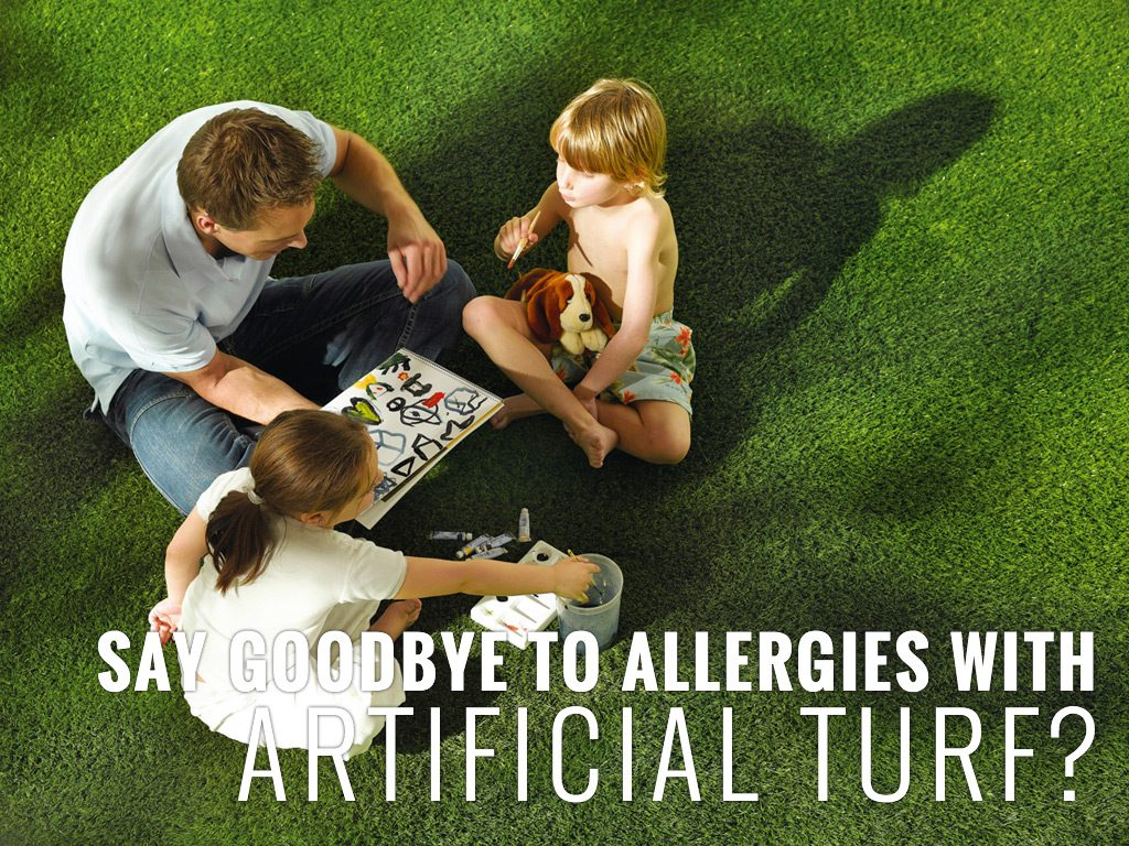 Say Goodbye to Allergies with Artificial Grass