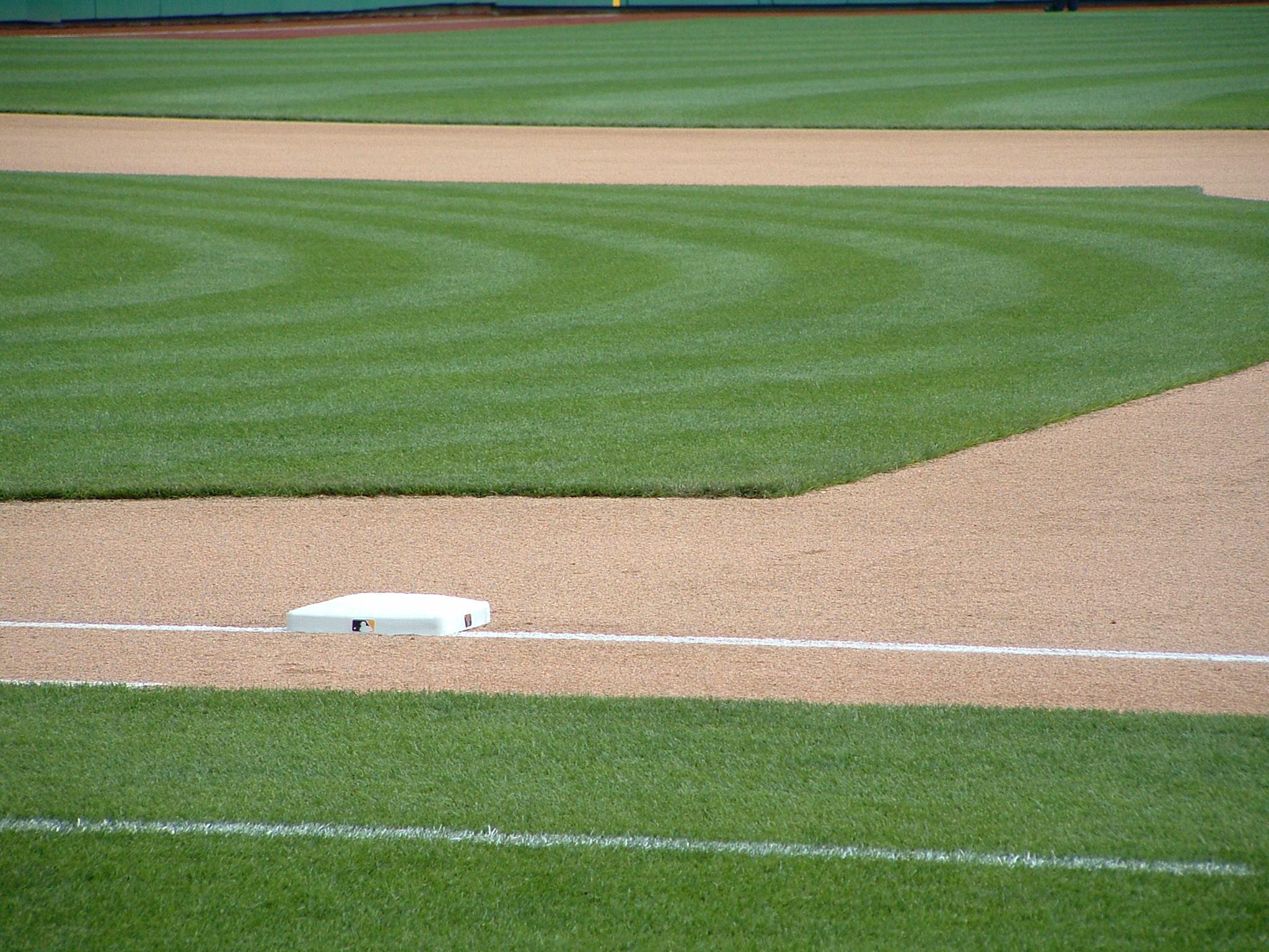 synthetic turf baseball