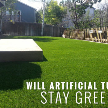 WILL ARTIFICIAL TURF STAY GREEN?