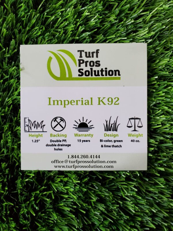 k92 artificial turf
