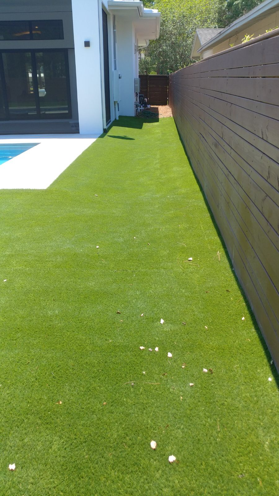 artificial turf 104