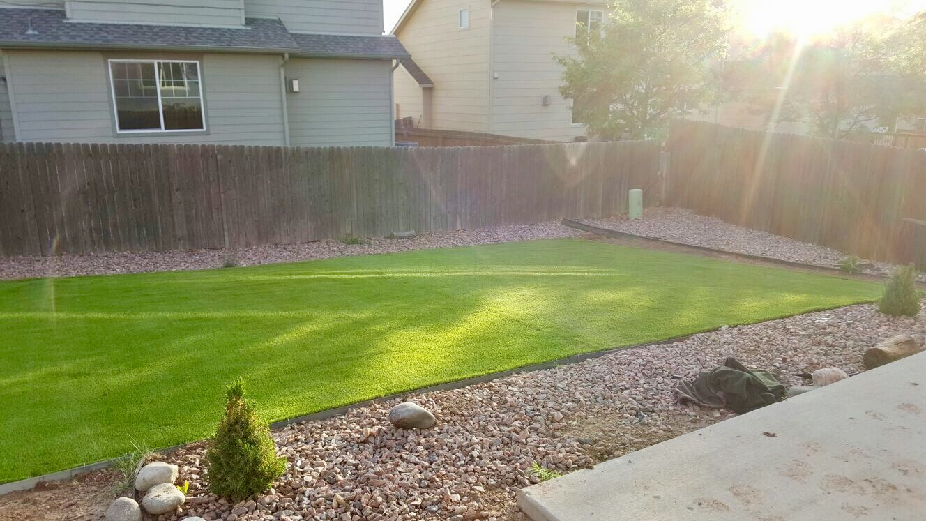 artificial turf 108