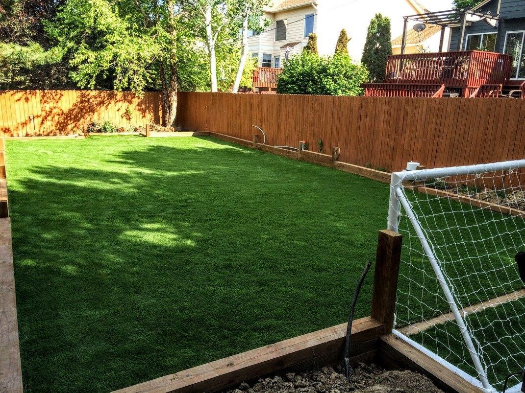 artificial turf 120