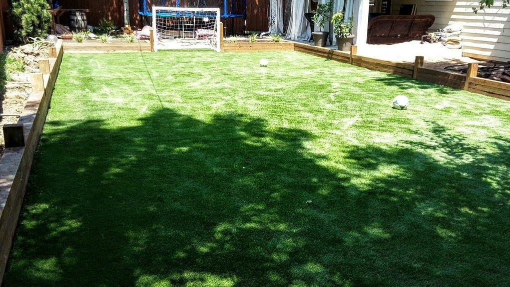artificial turf 122