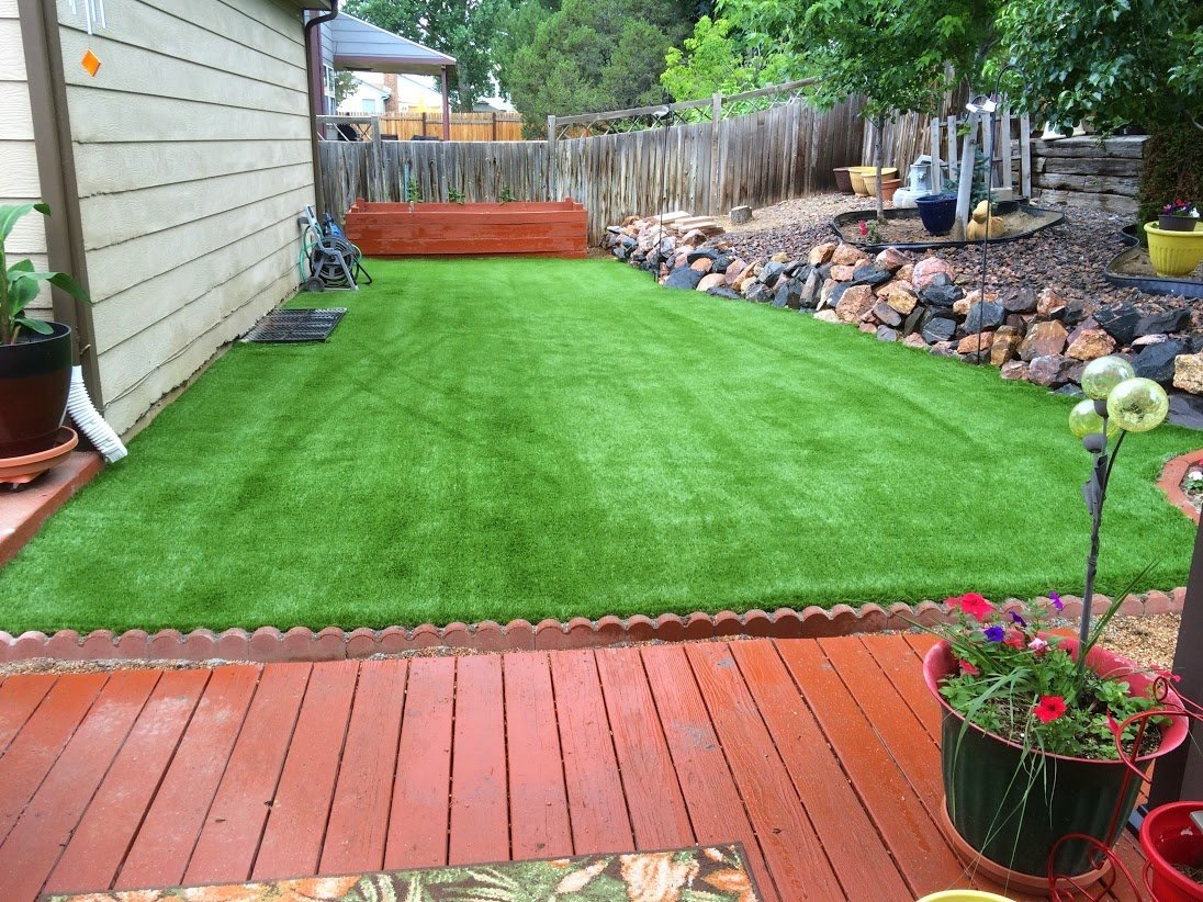 artificial turf 126