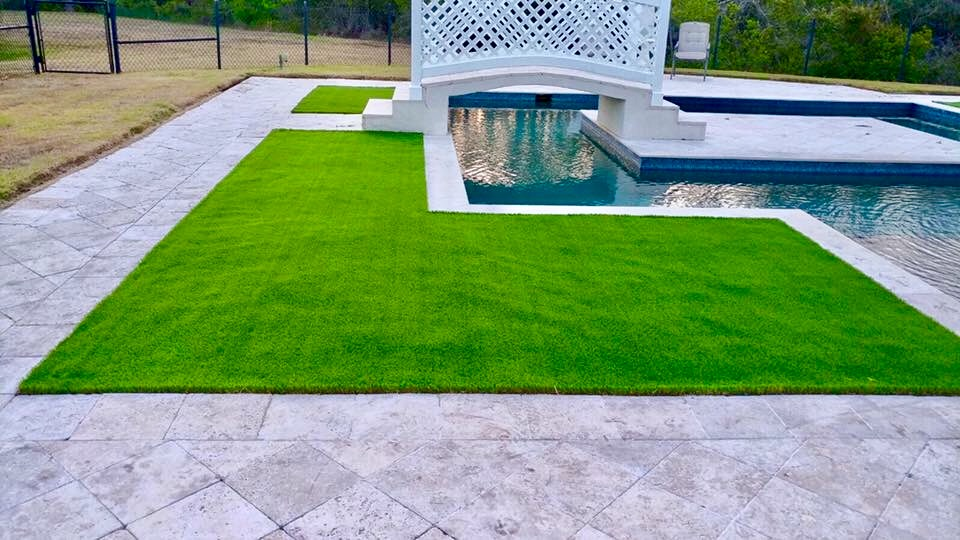 artificial turf 130