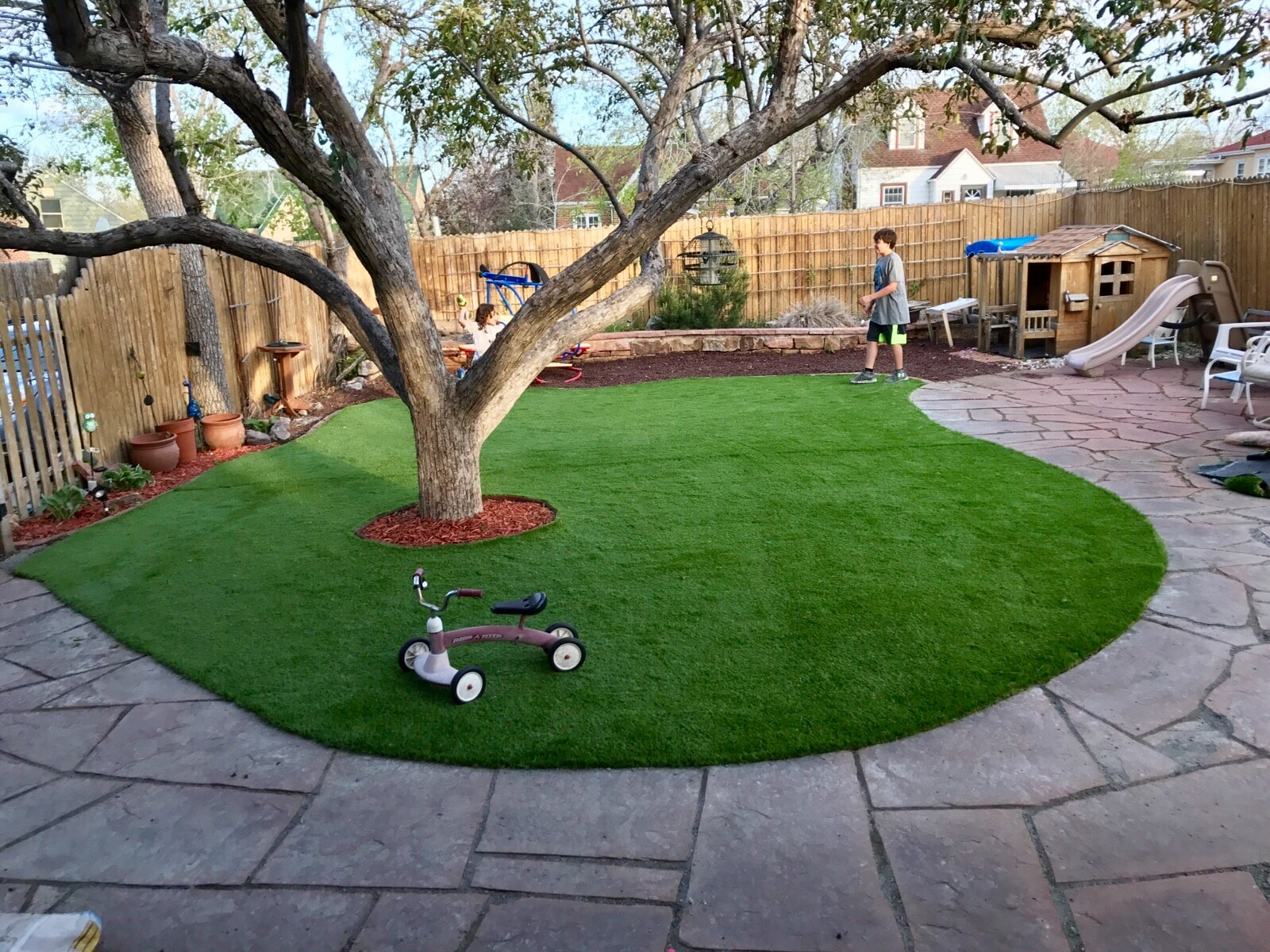 artificial turf 132