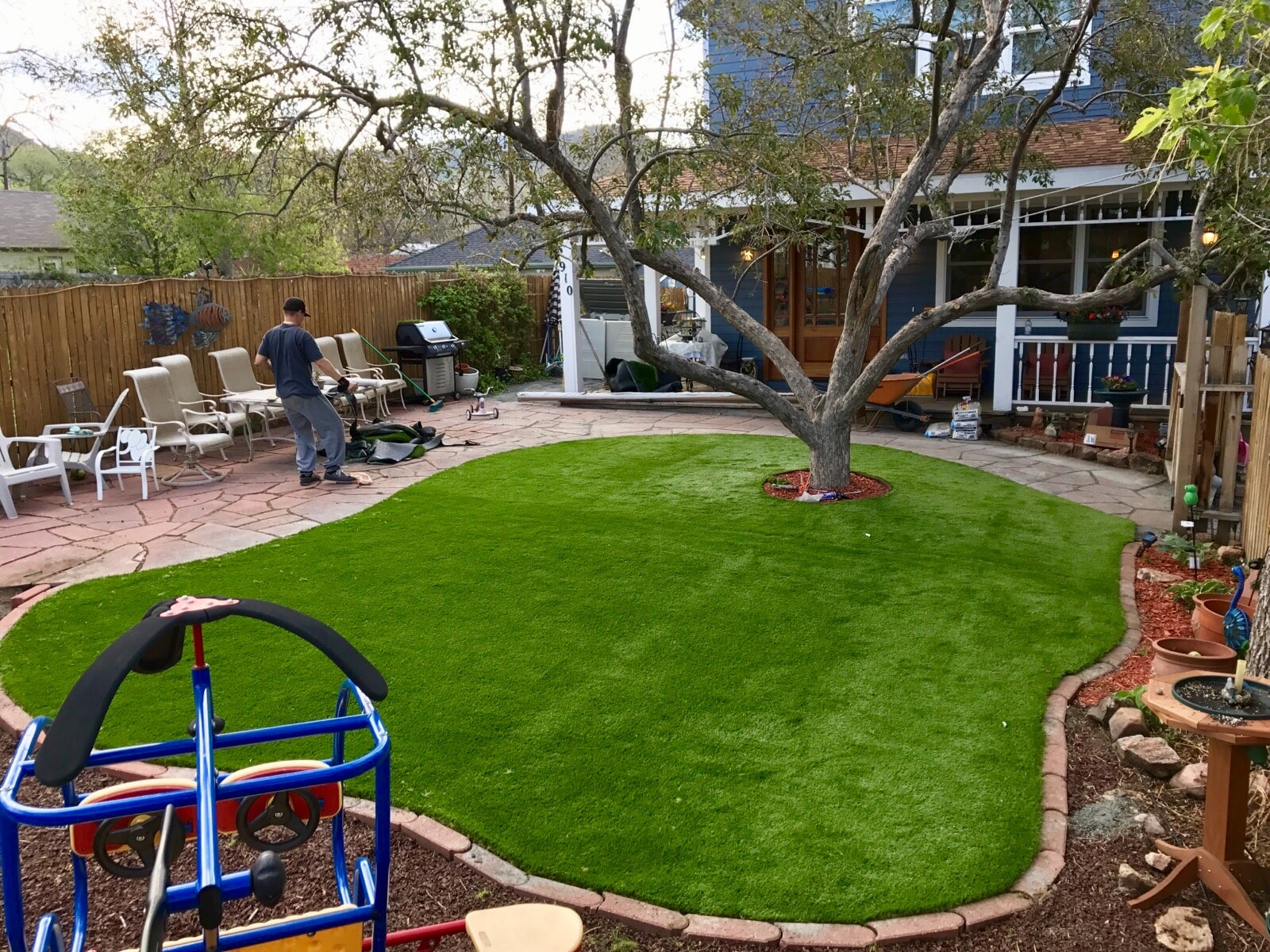 artificial turf 133