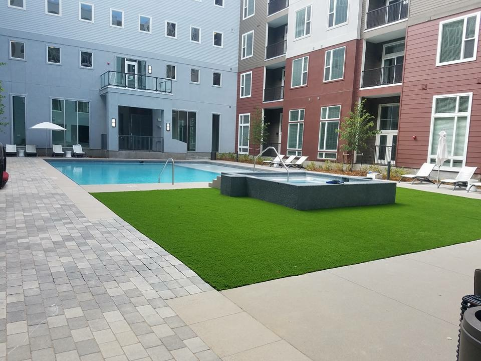 artificial turf 134
