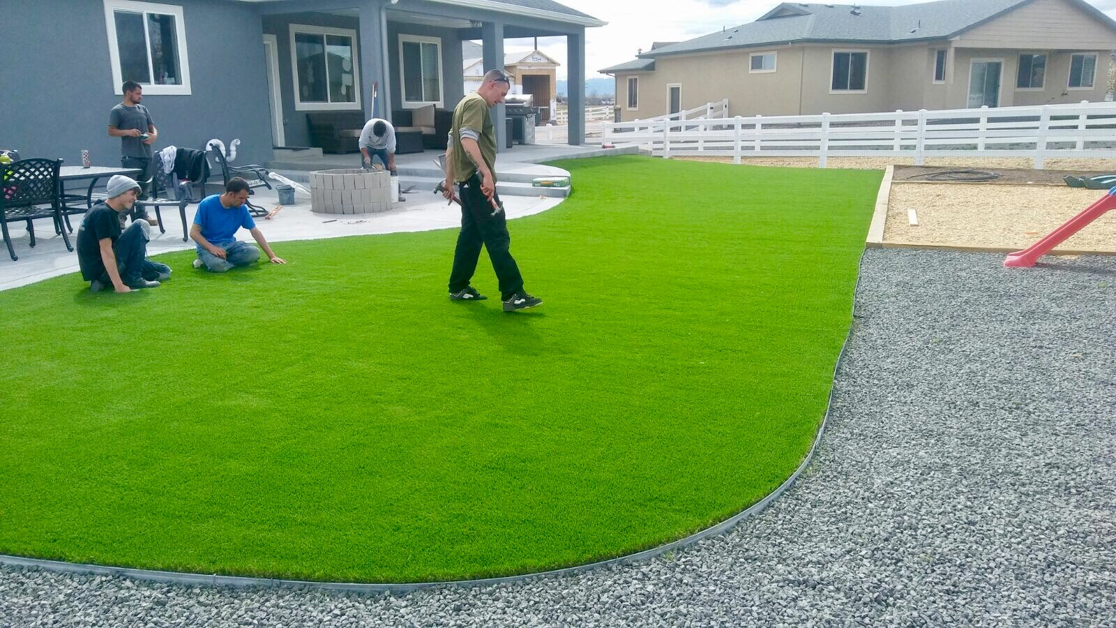 artificial turf 38