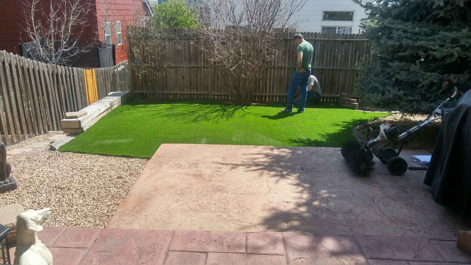 artificial turf 41