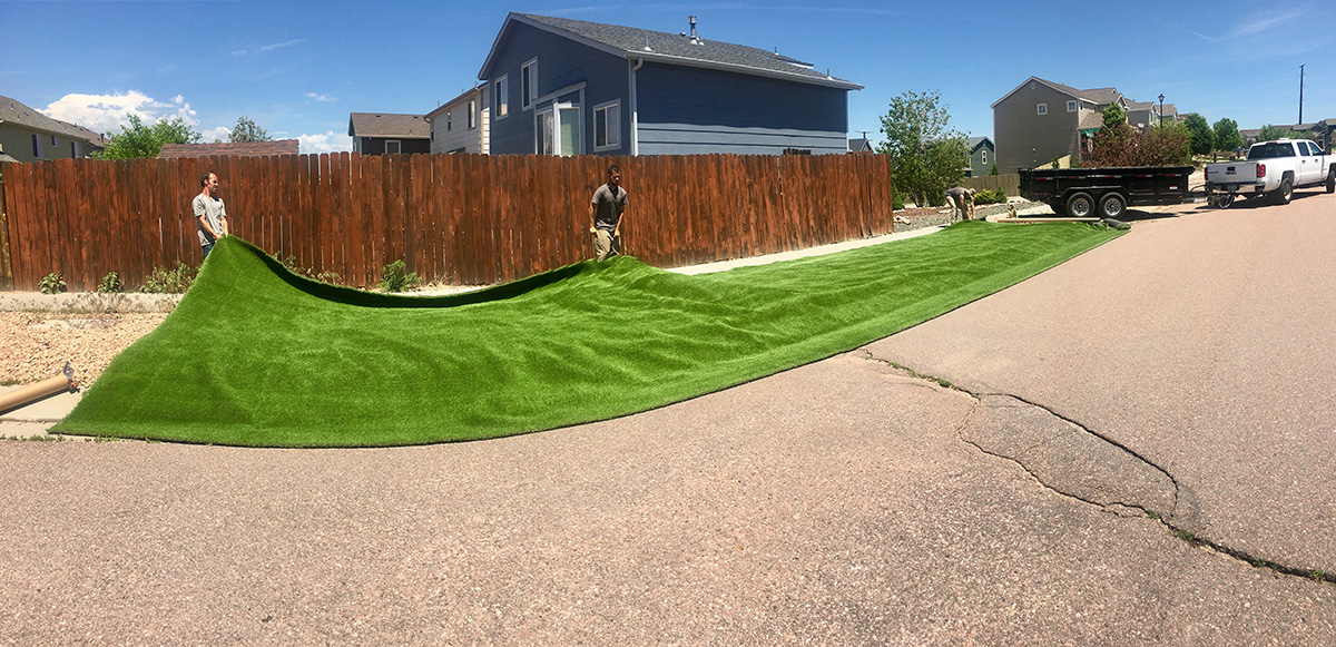 artificial turf 76